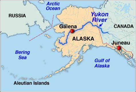 yukon river map adam s river quest