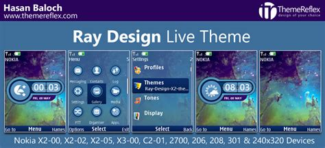 live themes for nokia x2 00 ray design live theme for nokia x2 00 x2 02 x2 05 x3 00
