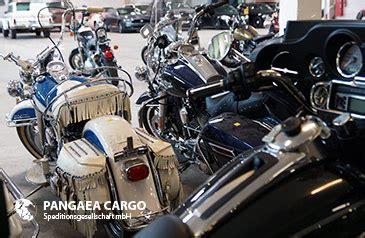 Motorrad Spedition Usa by Internationaler Fahrzeug Transport