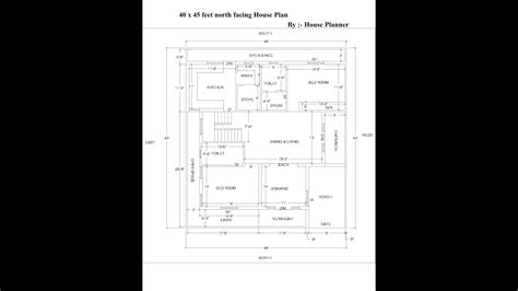 house planner 40 x 45 facing house plan house planner