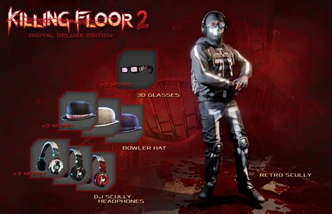killing floor 2 digital deluxe edition and pc requirements revealed shacknews