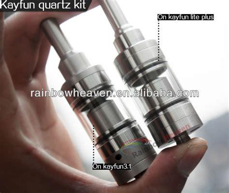 Kayfun Glass Nano Clear Tank For V3 1v 2 Lite Hitam kayfun quartz kit new nano kit products for 2014 kayfun