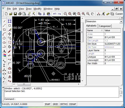 free 2d cad free and simple 2d cad software dwg dxf editor viewer