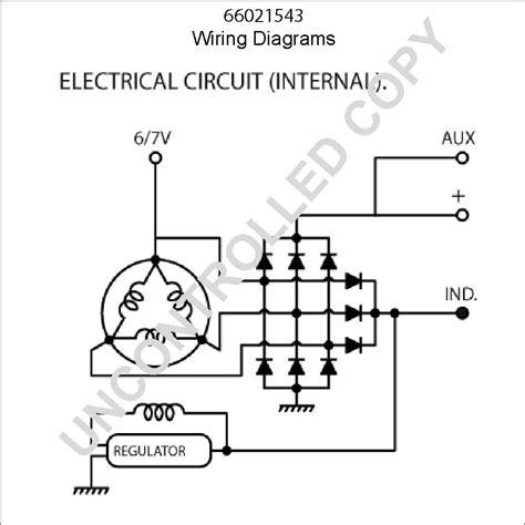 bosch universal alternator wiring diagram circuit and