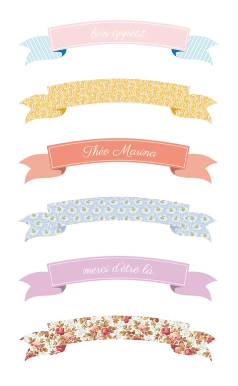printable cake banner template diy d 233 corations pour g 226 teaux 171 cake toppers 187 free