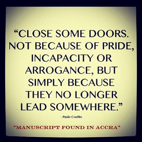 Closed Door Quotes by Some Doors Quotes
