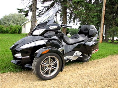 2010 brp can am spyder rt s touring trike