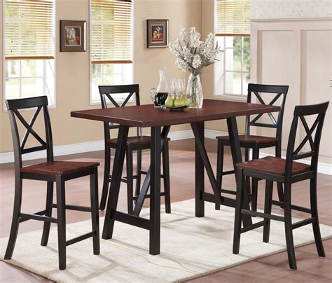 small counter height table small counter height table stool set jen joes design