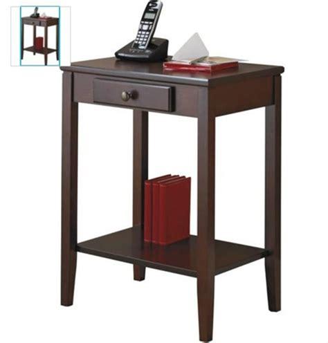 Telephone Console Table Console Table Mahogany Style Hallway Telephone Table Wood 1 Shelf 1 Drawer Ebay