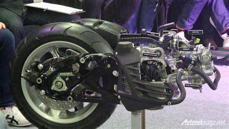 Pelindung Kerikil Cakram Belakang Nmax bluecore engine yamaha nmax 150 autonetmagz