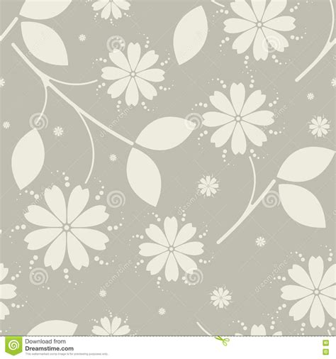 design pattern use beauty seamless pattern with flowers stock vector