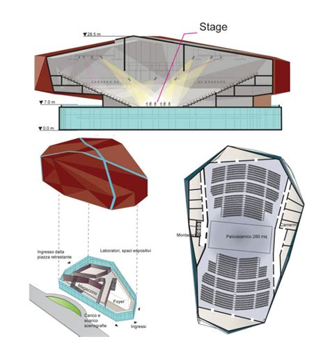 design proposal competition varese theater design proposal by maxthreads architectural