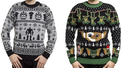 Sweater Rick And Morty Nes Cartridge the iron and gremlins themed sweaters from