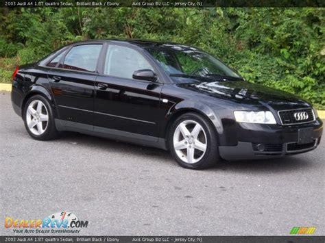 2003 audi a4 1 8t quattro 2003 audi a4 1 8t quattro sedan brilliant black