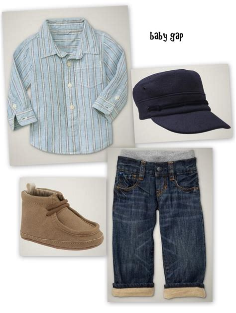 baby boy clothes side of