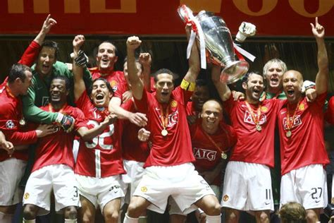 Jersey Manchester United Moscow 2007 5 greatest uefa chions league finals of all time