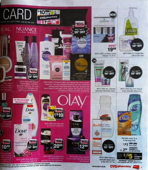 simply cvs cvs ad scan preview for the week of 8 17 14
