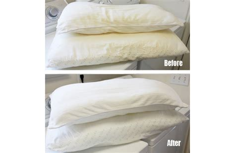 Cleaning Pillows how to clean and whiten yellowed pillows
