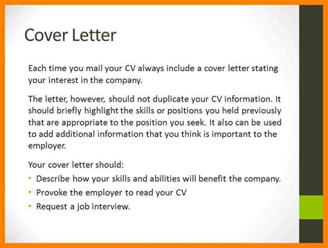 what should i include in my cover letter should i include a cover letter project scope template