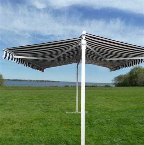 freestanding awnings legends retractable awnings