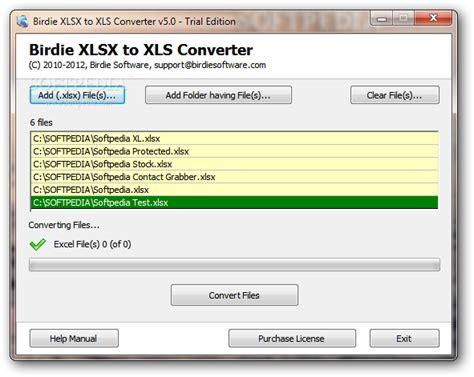 converter xlxs to xls birdie xlsx to xls converter download