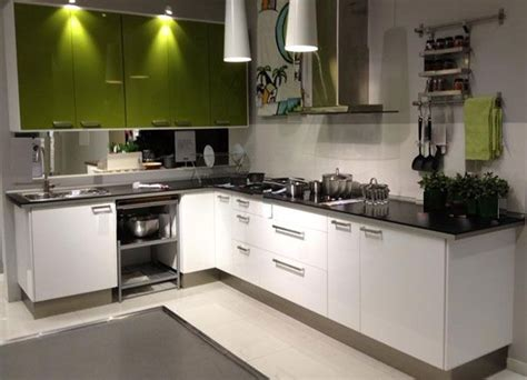 small c shaped kitchen designs l shaped kitchen layout with green and white kitchen