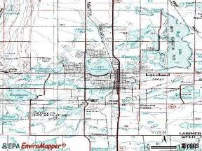 map of loveland colorado loveland colorado co 80538 profile population maps