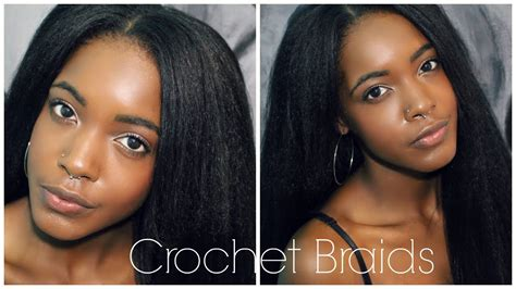 kanekalon and human hair tangles how to easy natural looking vixen crochet braids how to