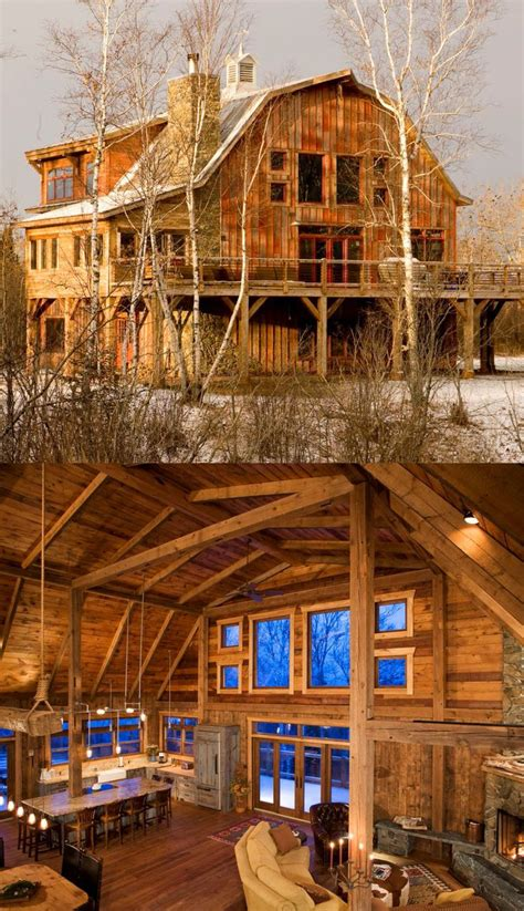 rustic barn homes 120 best wooden houses images on wooden houses