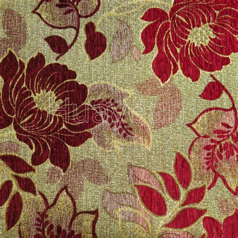 shop upholstery fabric floral chenille jacquard tweed upholstery fabric