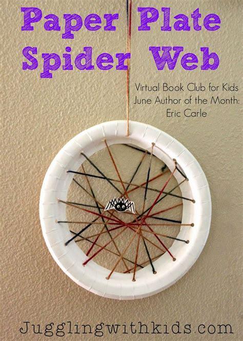 Paper Plate Craft Book - best 25 spider web craft ideas on preschool