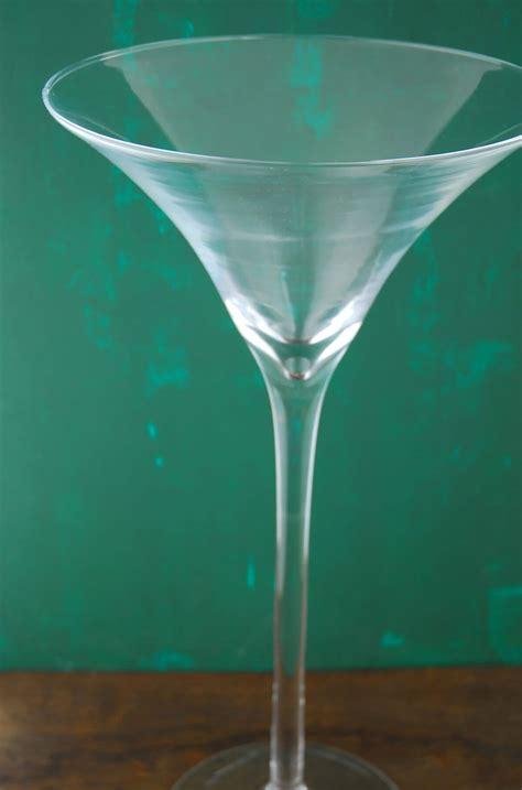 Large Martini Glass Vase 20 Quot Glass Martini Glass Vase