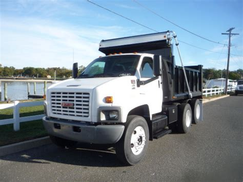 used gmc for sale used 2008 gmc c7500 dump truck for sale in in new jersey