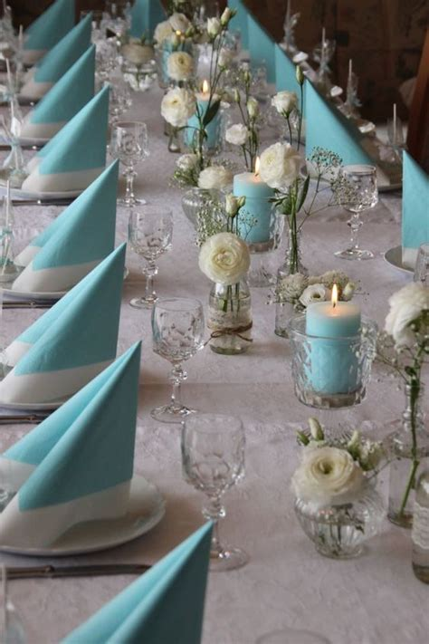 dekoration konfirmation tisch ankerwerfer deko konfirmation t 252 rkis blue