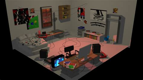 s room dave strider s room 3d model by thentherewasia on deviantart