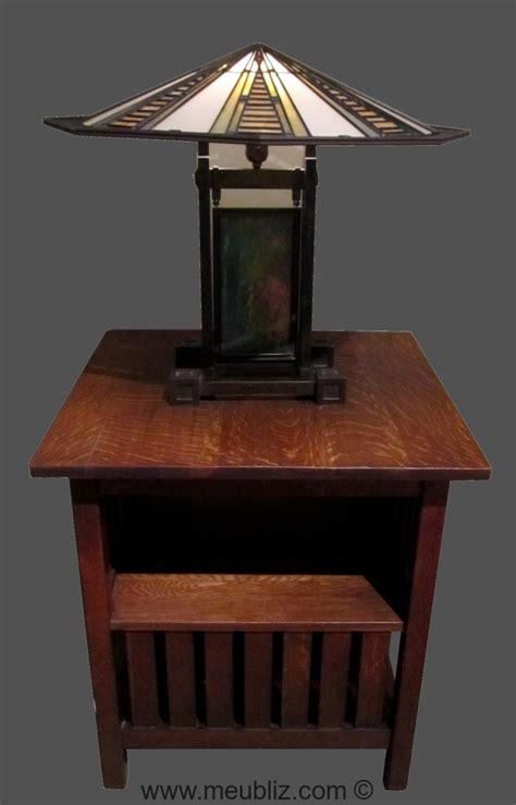 frank lloyd wright table l table de chevet par frank lloyd wright meuble design