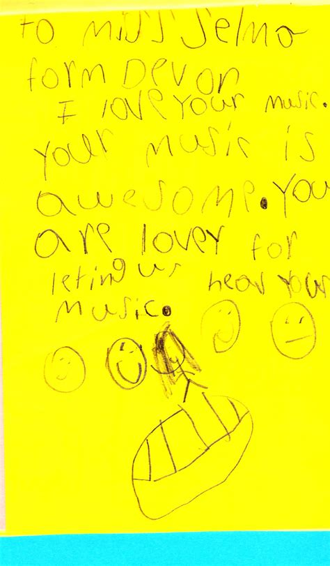 Thank You Letter Key Stage 1 sle thank you note to elementary school