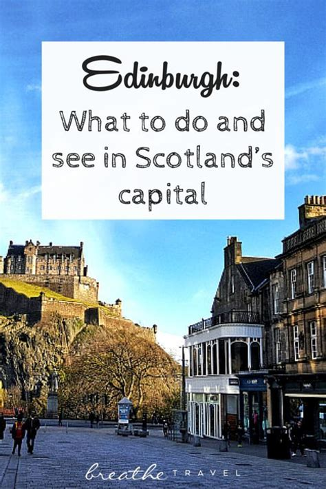 what to do scotland and edinburgh travel on