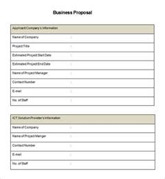 business bid template business template 39 free word pdf documents