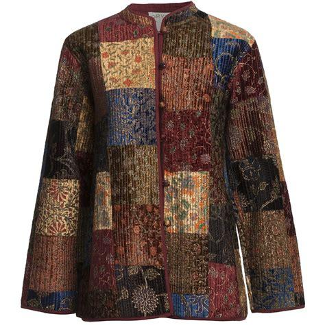Velvet Patchwork - orvis quilted velvet patchwork jacket for 5776a