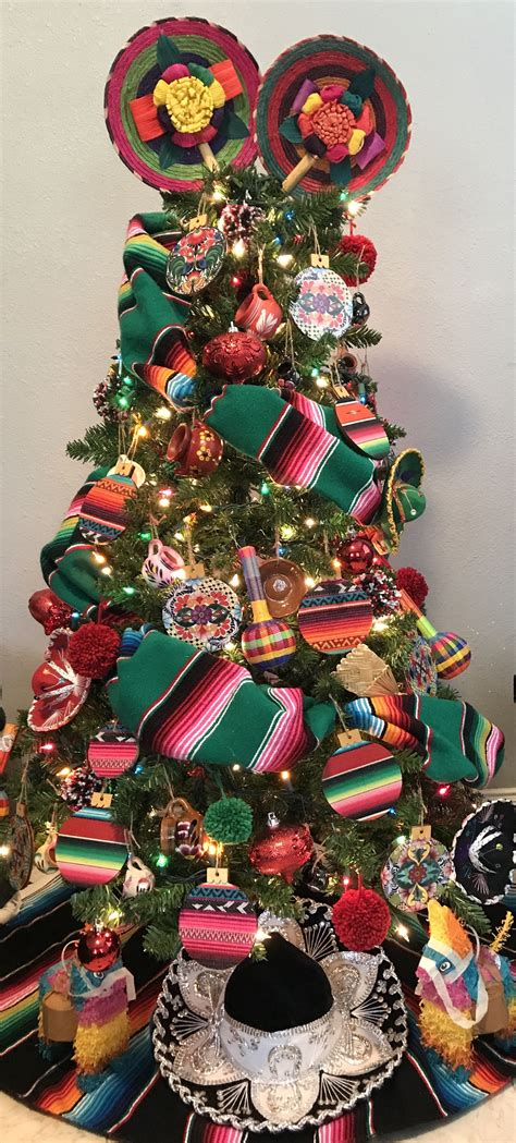 mexican christmas decorations ideas mexican tree 193 rbol navide 241 o mexican mexican