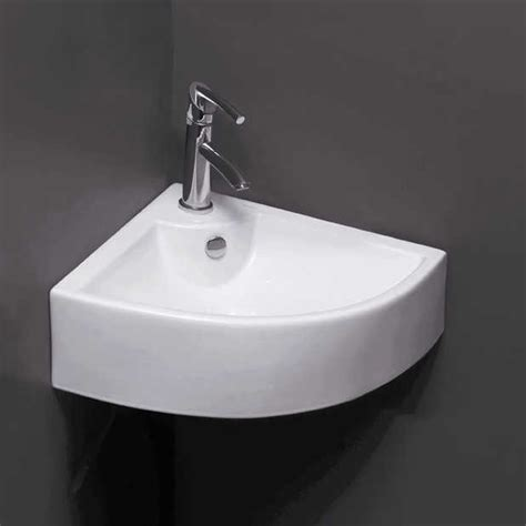 Corner Faucet by Five Bathroom Sinks For The Corner
