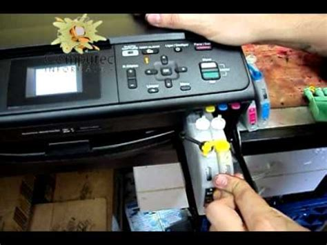 resetter brother dcp j125 recarregando brother dcp 165 ou j125 youtube