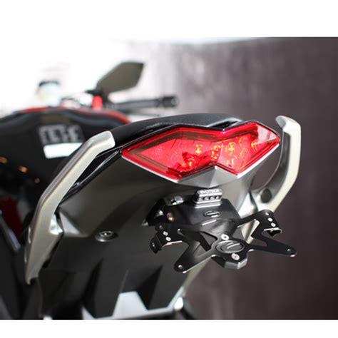 Kennzeichenhalter Motorrad Maße kawasaki z 1000 sx z1000sx u kennzeichenhalter romatech