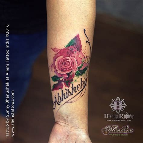 rose tattoos with names 17 best ideas about with names on