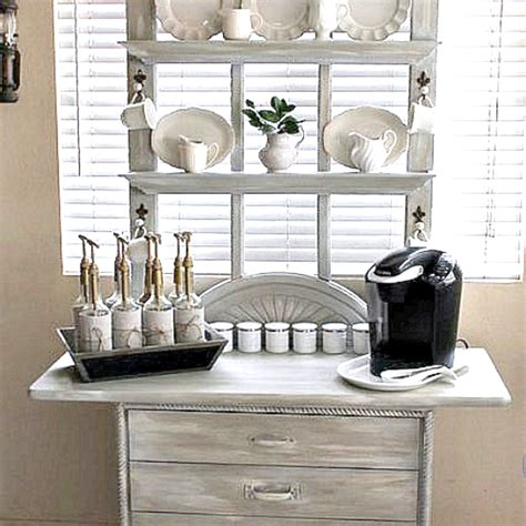 repurposed home decorating ideas hometalk coffee station made from repurposed screen door