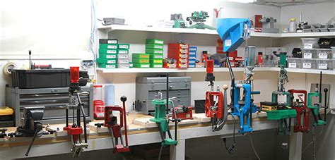ultimate reloading bench new bench system with some presses and accessories mounted