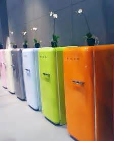 Turquoise Kitchen Canisters by Smeg Fridge Freezers Designiscool