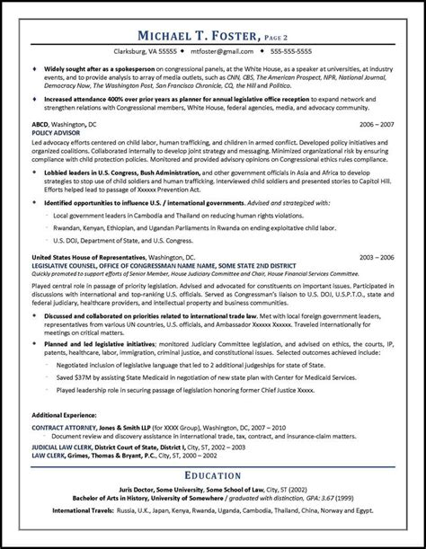 Lawyer Resume by Lawyer Resume Sle Written By Distinctive Documents