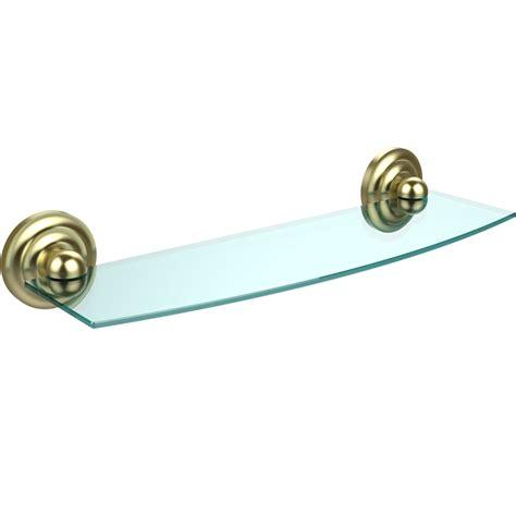 18 glass bathroom shelf prestige beveled glass bath shelf 18 inches in bathroom
